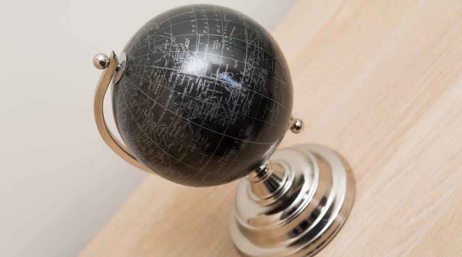 Globe Ornament: